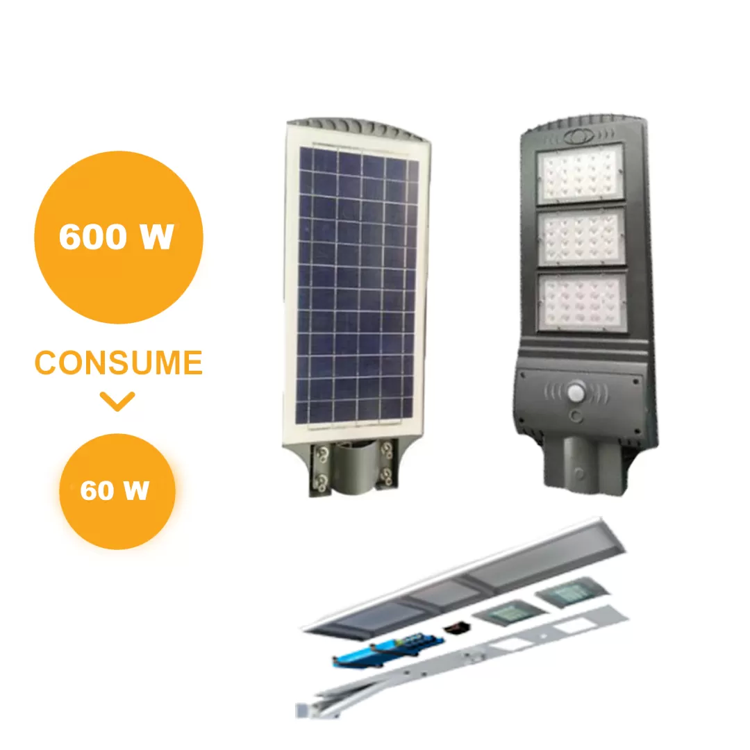 SOLAR   ALL IN ONE 60W | ILV Iluminación