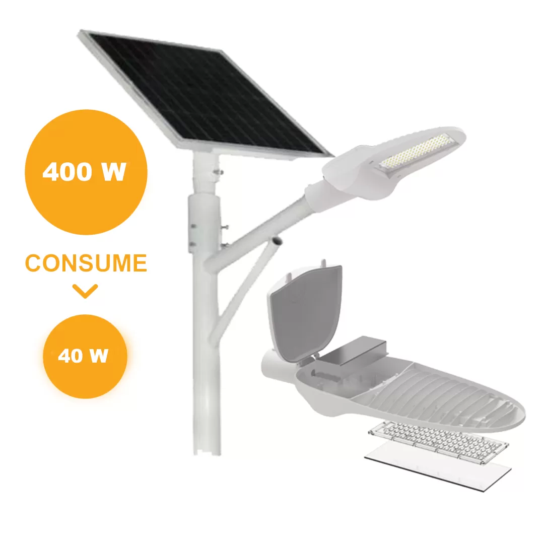 SOLAR   ALL IN ONE 100W | ILV Iluminación