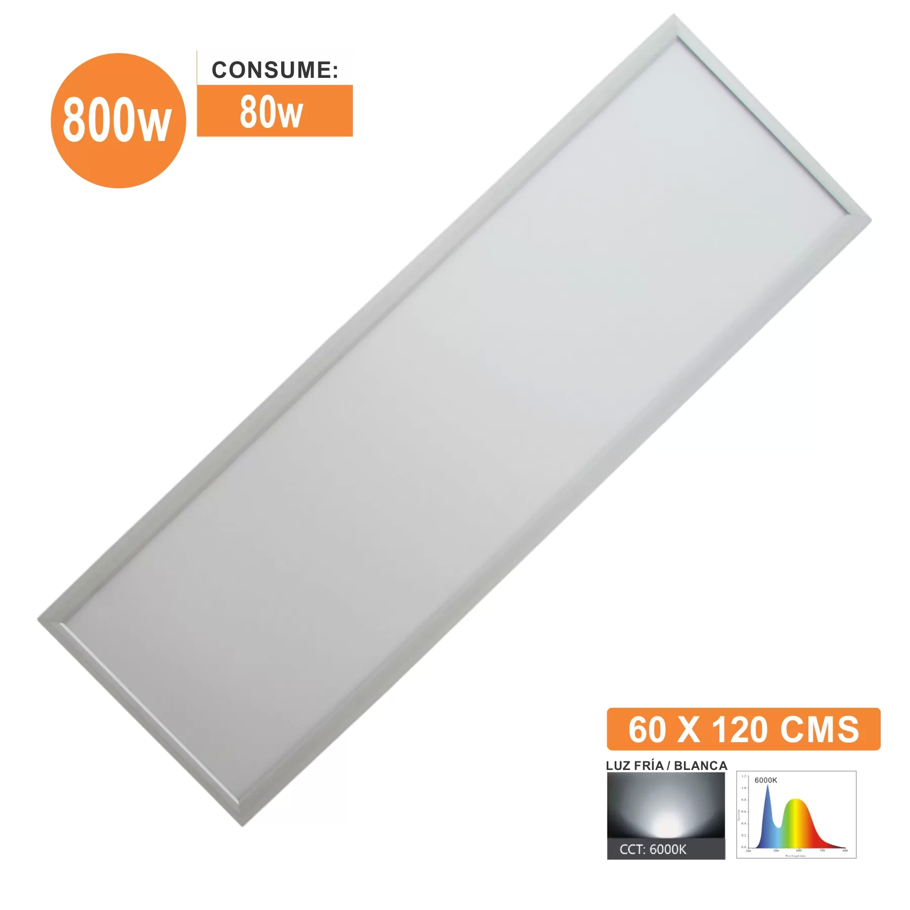 PANEL LED 60X120 80W | ILV Iluminación